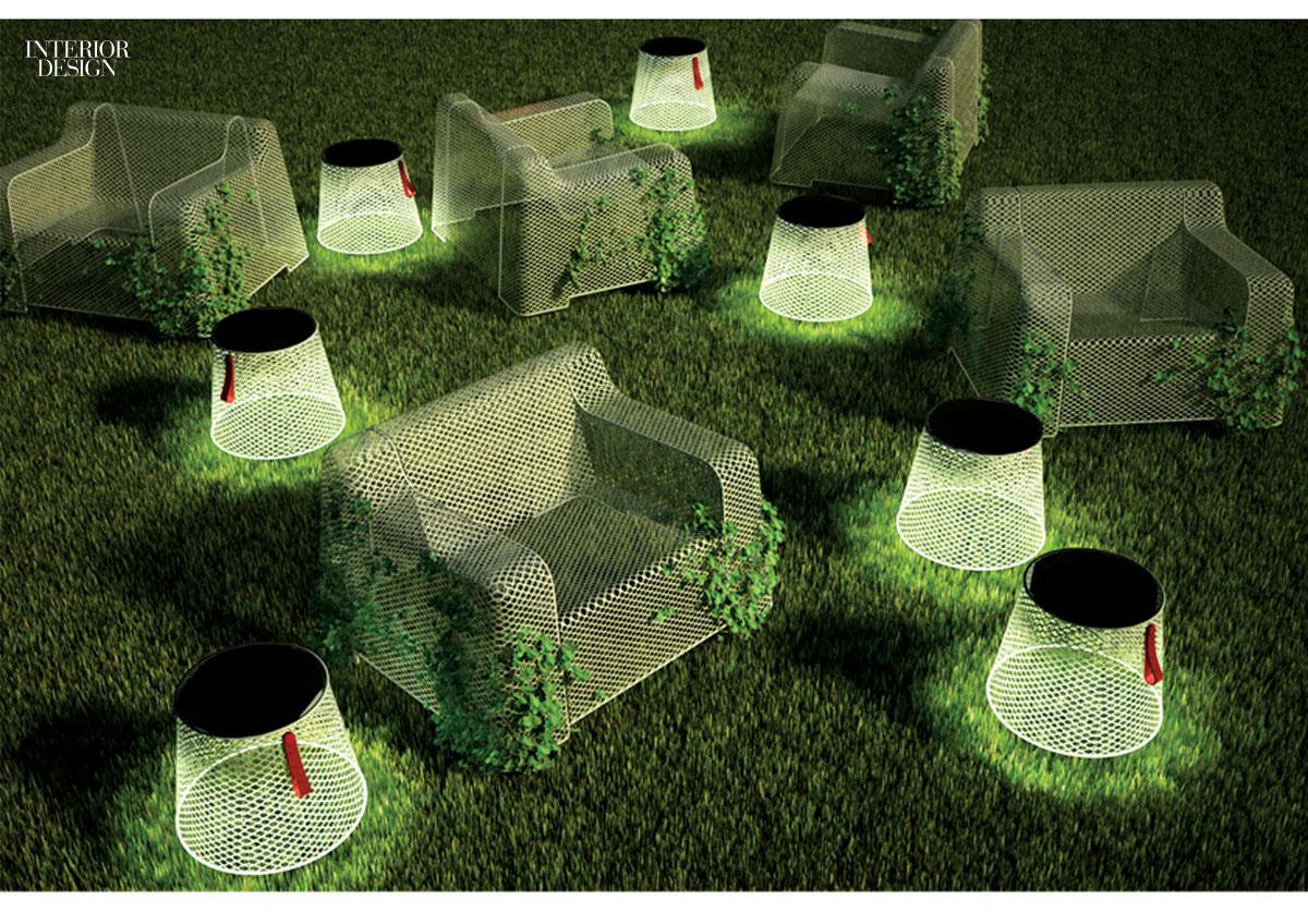 Садовые свветильники своими руками из металической сетки