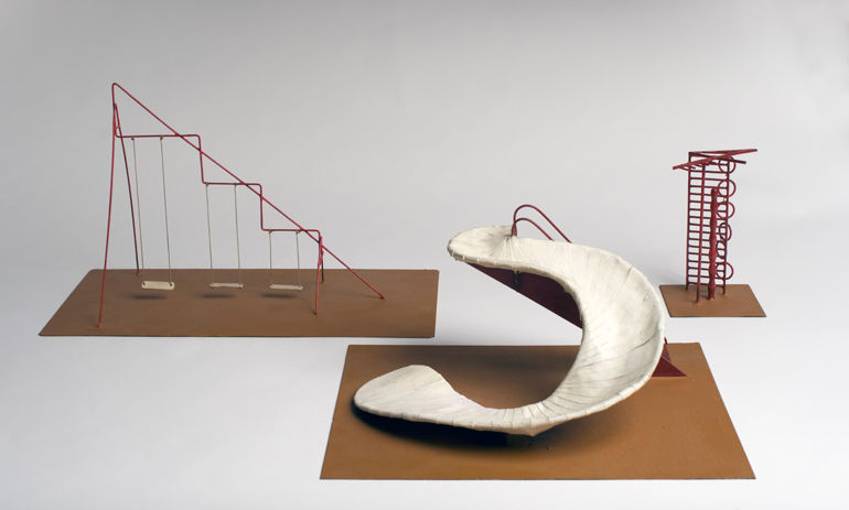 Isamu Noguchi S Creative Playground Designs Exhibit At Sfmoma