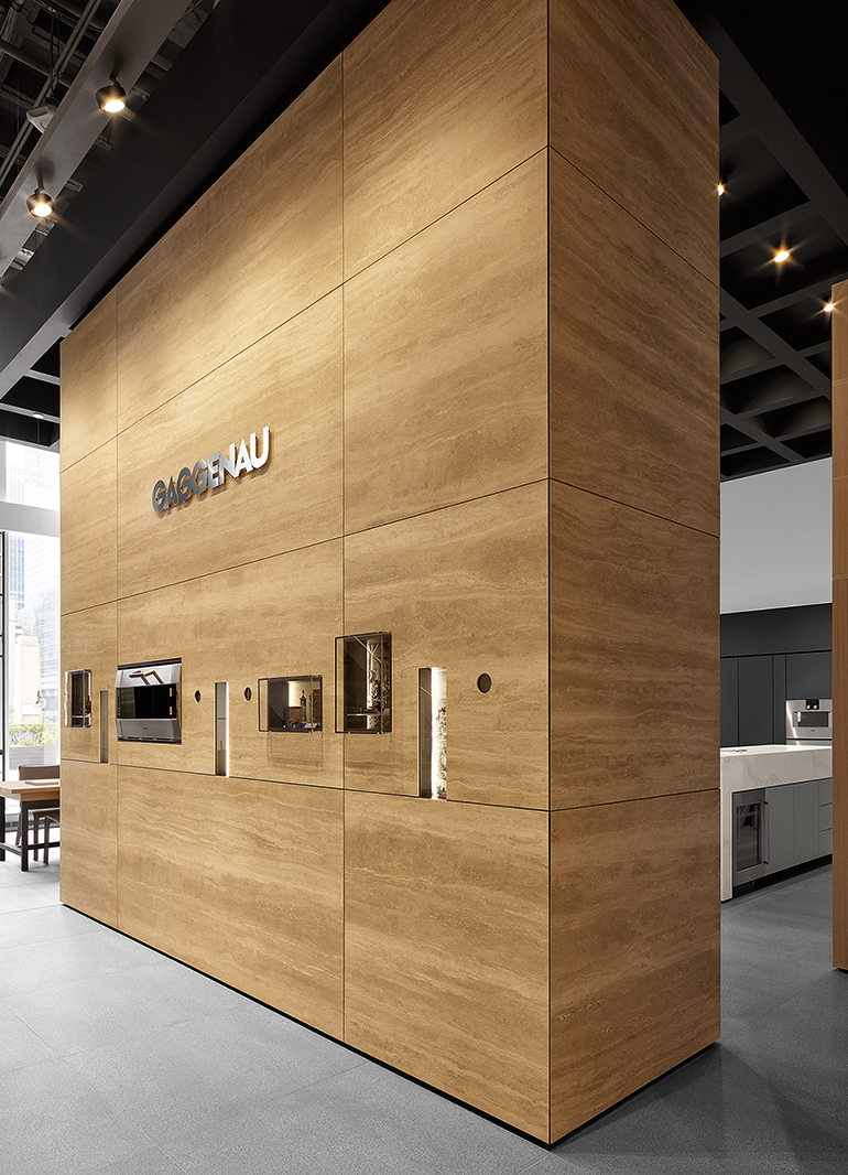 A Marble Heritage Wall Greets Guests Upon Entry Image Courtesy Of Gaggenau