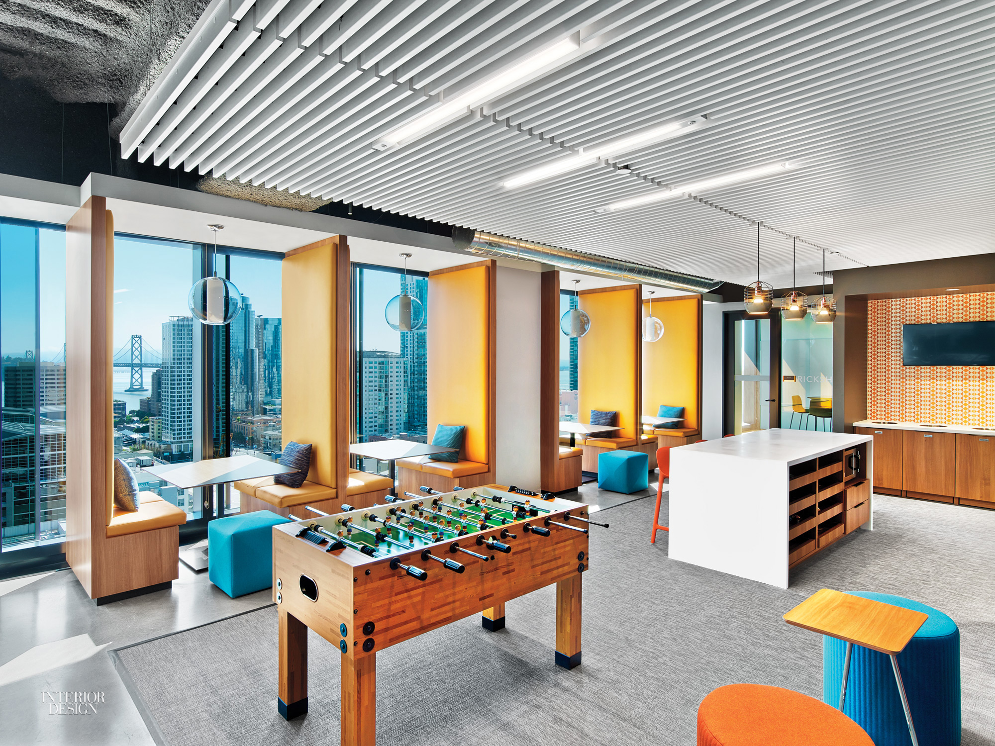 At LinkedIn San Francisco Office By Interior Architects, Graphics Lead The  Way