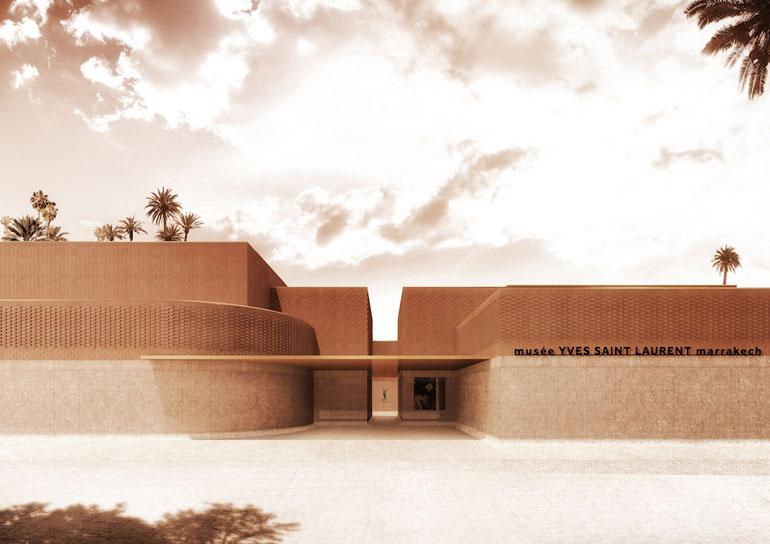 Musee Yves Saint Laurent Marrakech Exterior Photography Courtesy Of Studio KO Fondation Pierre Berge