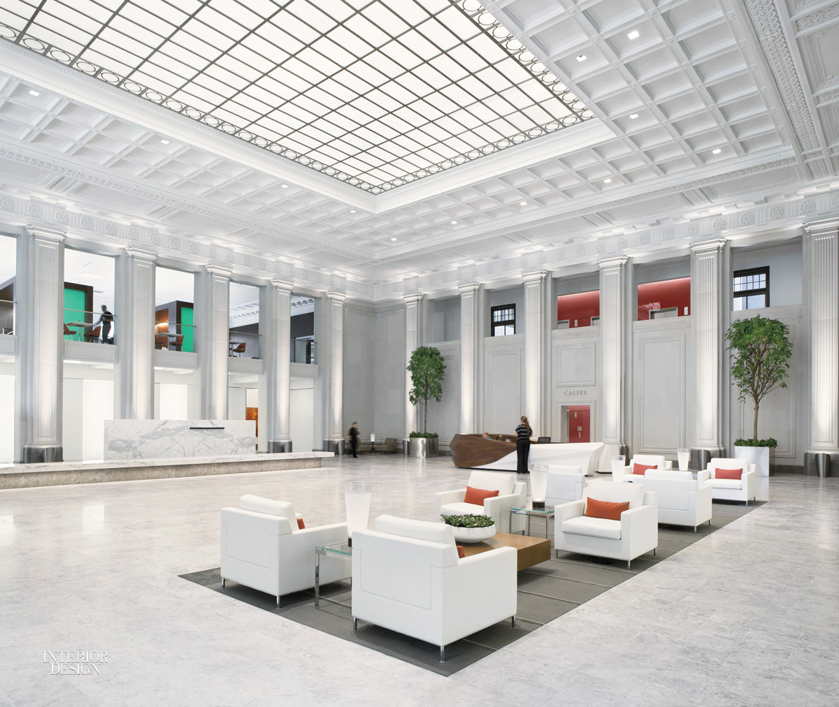 Standout The Missouri Pacific Railroad Headquarters Was Converted Into An Apartment Building Lobbys Coffered Ceiling And Terrazzo Flooring Restored