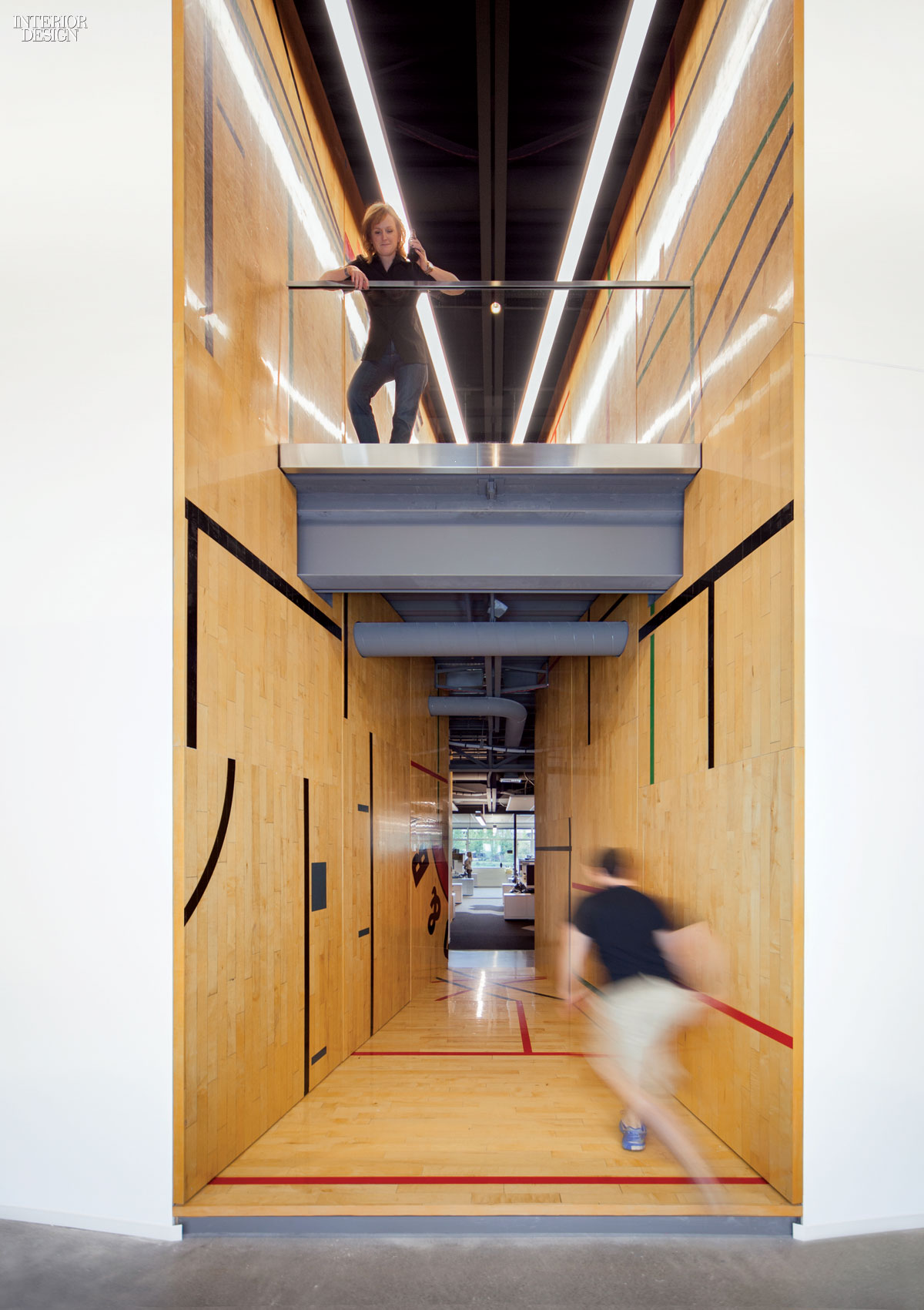 Gensler Adapts Former Gym For Tableau Software Offices Interior Design Magazine