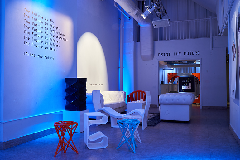 Interior Design Future 3-d printed furniture company print the future opens nyc pop-up