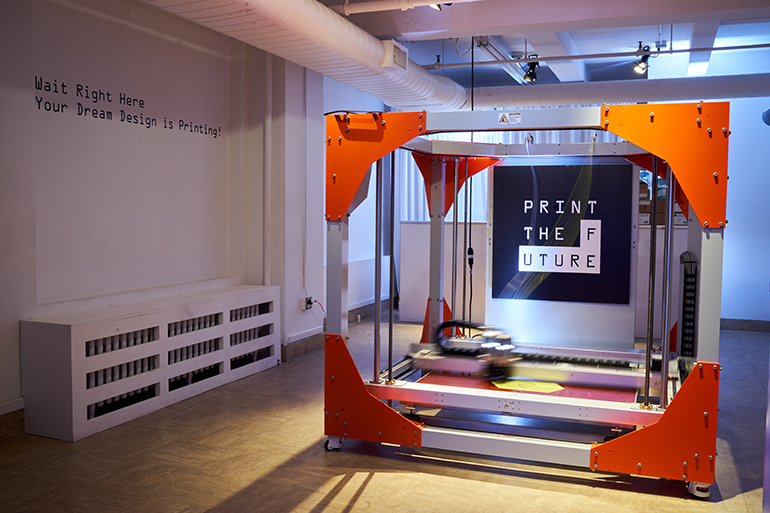 3 D Printed Furniture Company Print The Future Opens Nyc