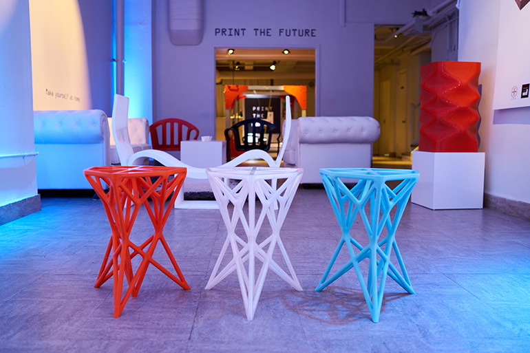 3-d printed furniture company print the future opens nyc pop-up