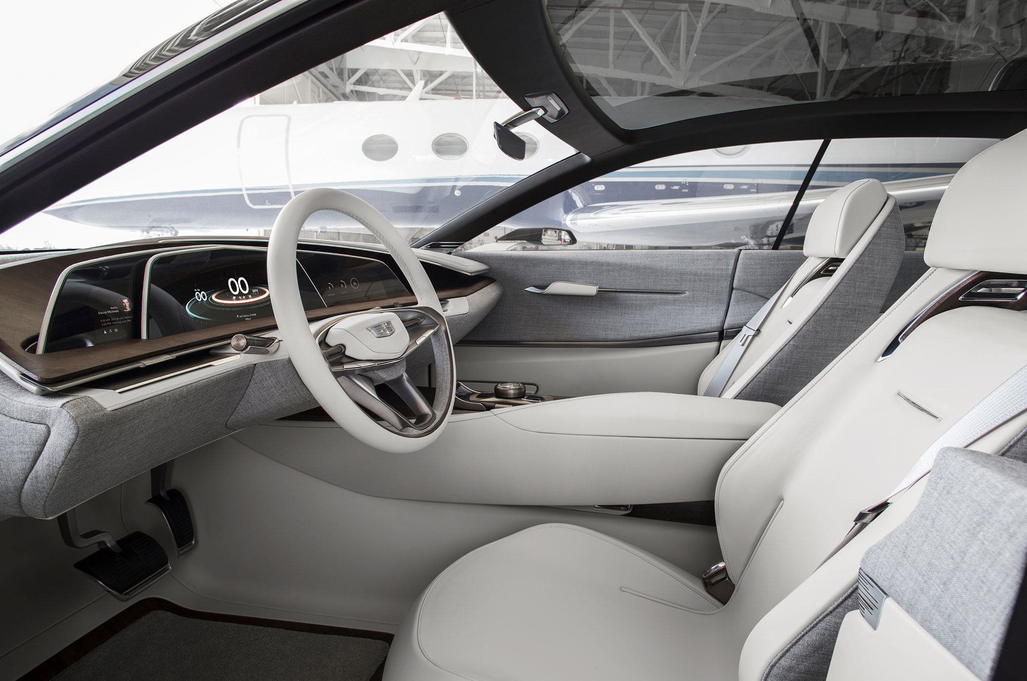 Cadillac escala scales up luxury car interiors for Top 50 luxury car interior designs