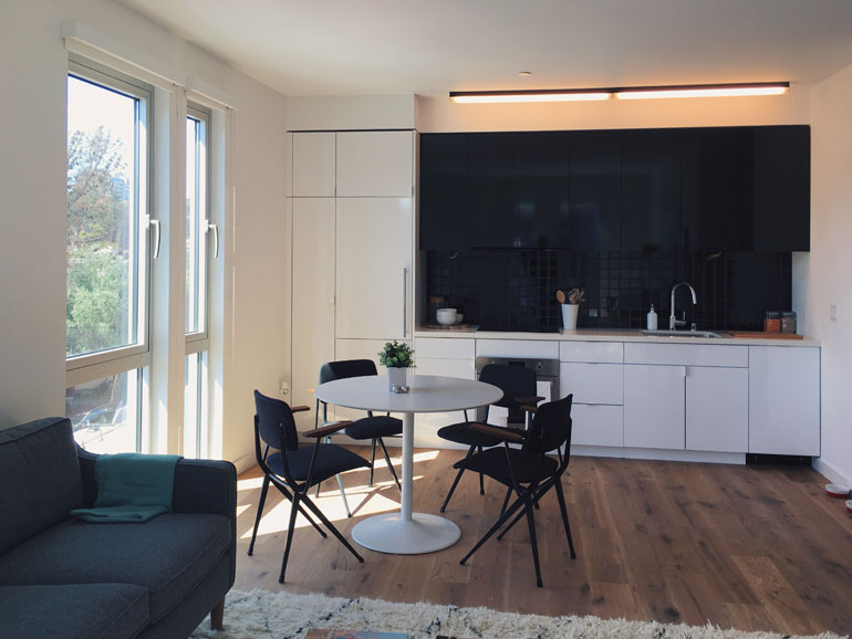 The Development Includes Two Bedroom Apartments. Photography Courtesy Of  The Firm.