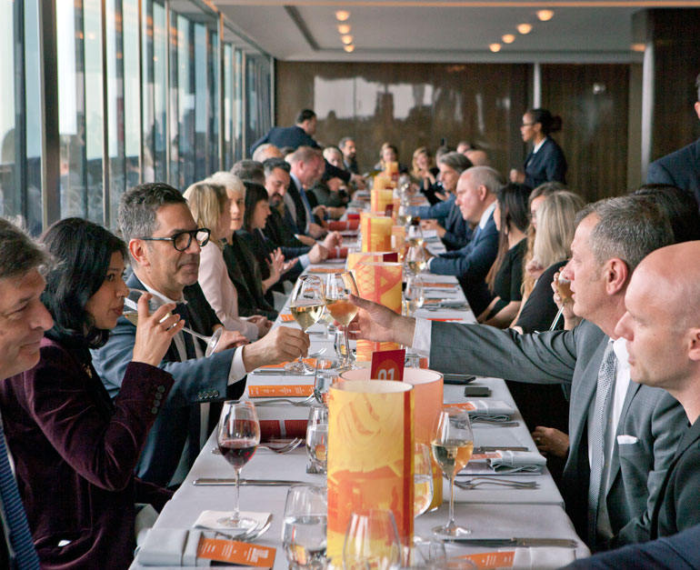Giants Celebrates 40th Year With Rainbow Room Lunch