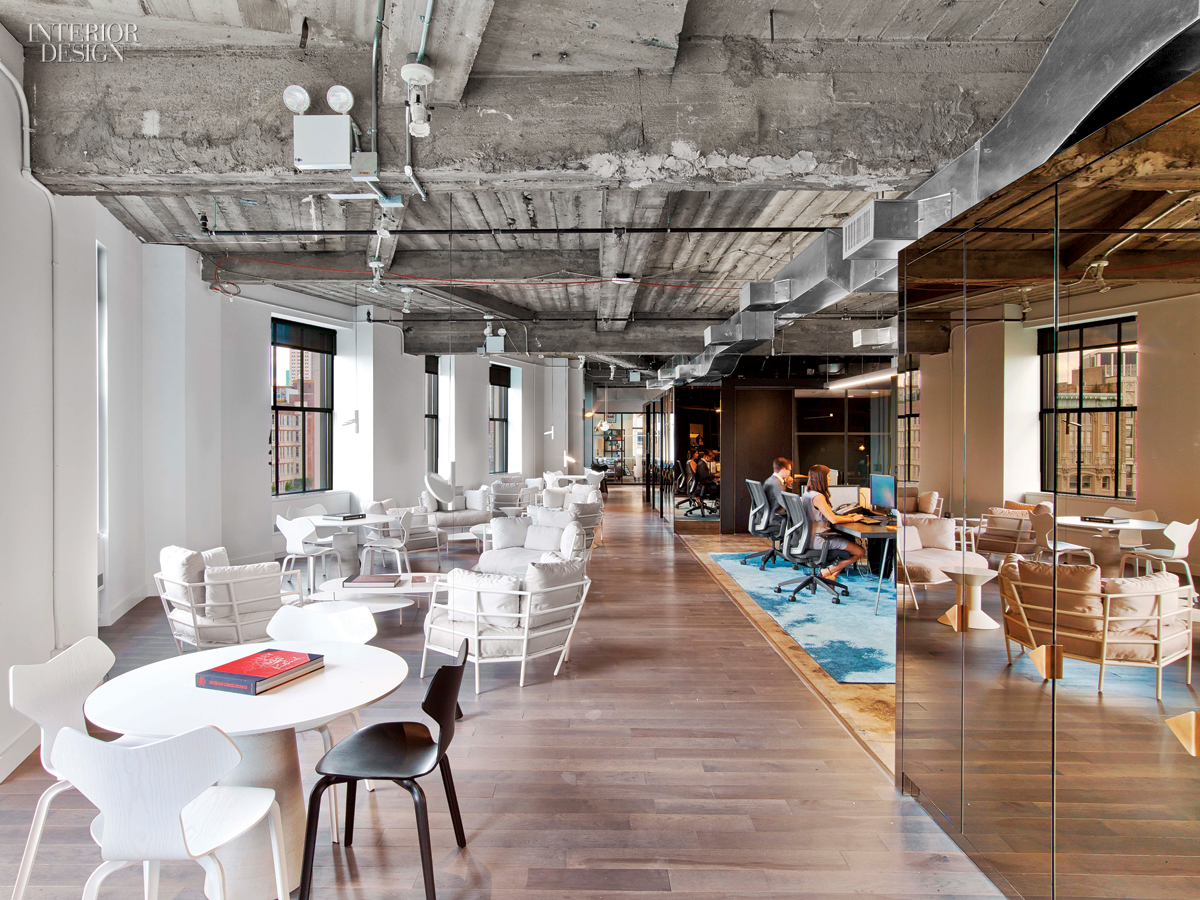 wme img s office by the rockwell group lets talent shine