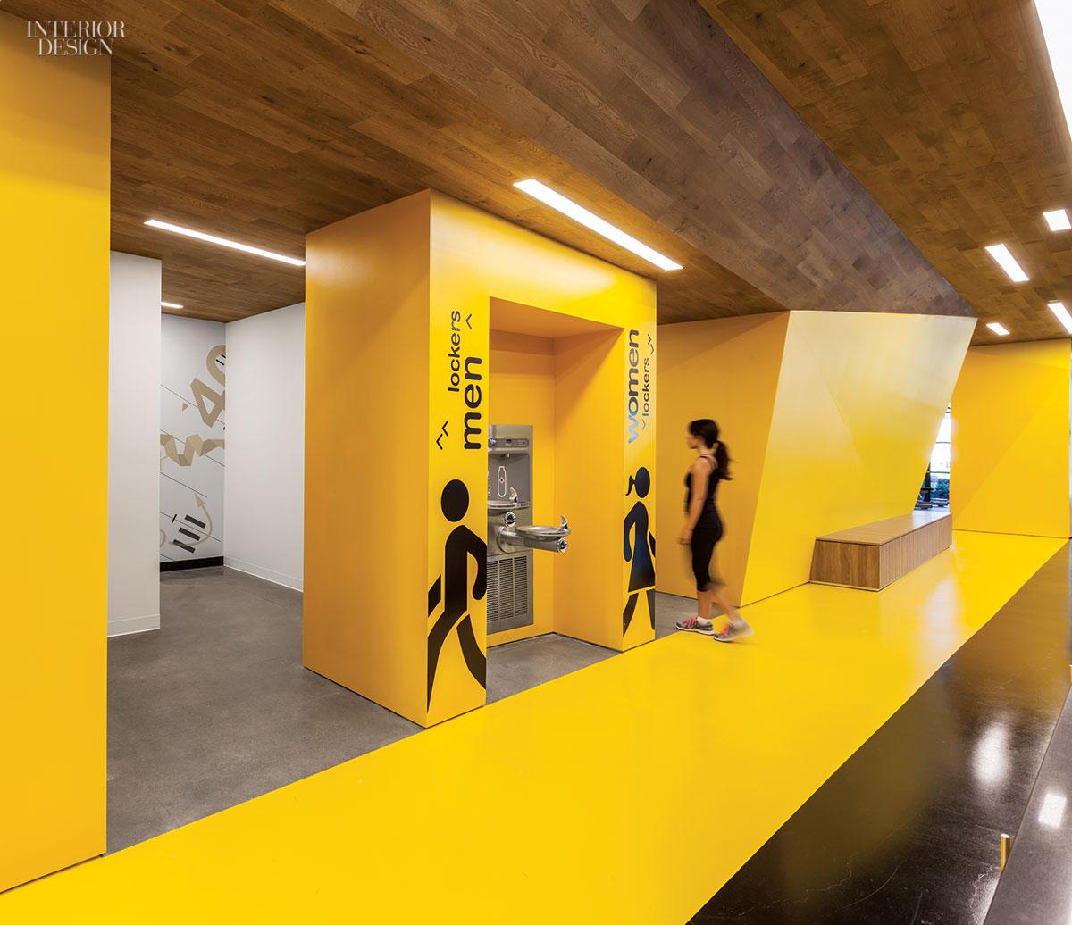 Gensler San Jose's Fitness Center For Symantec