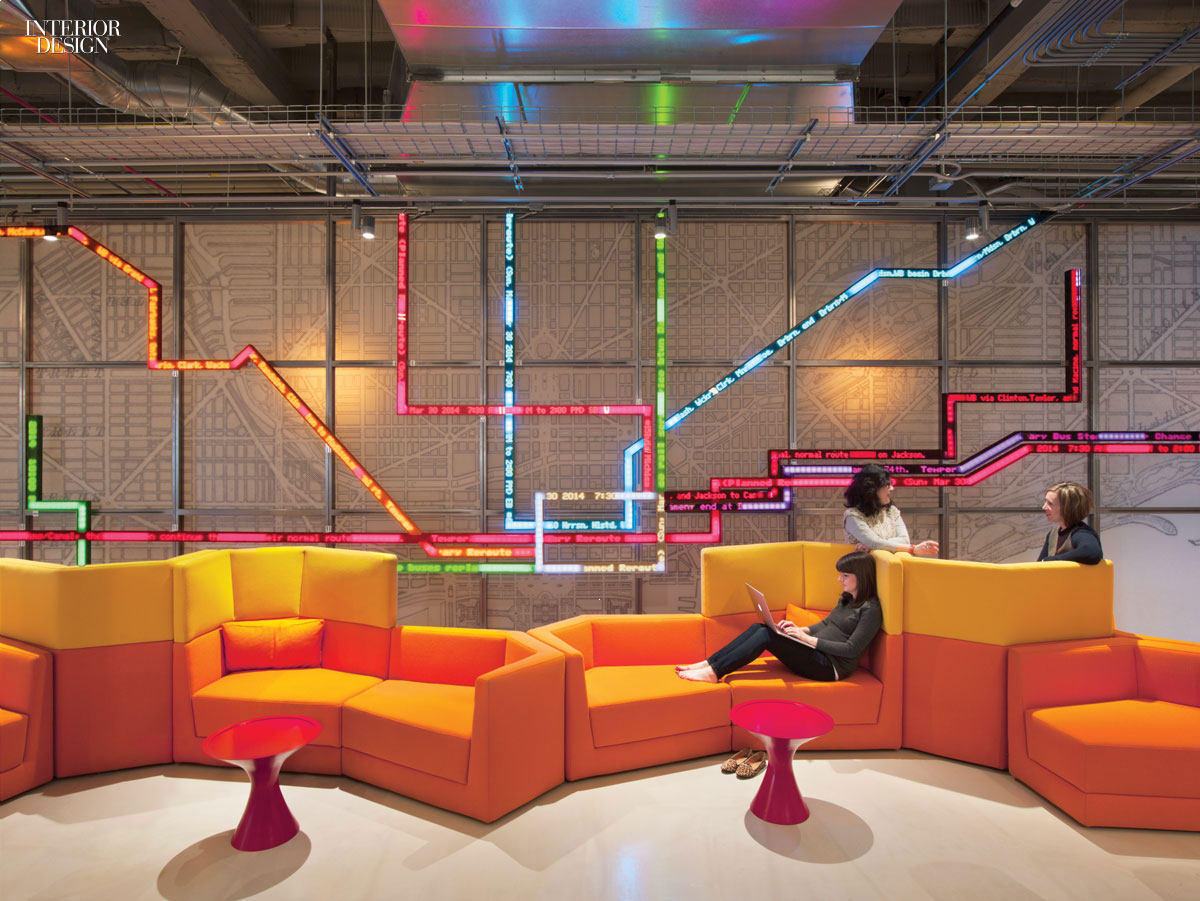 Making Connections Gensler Delivers Open Office For Motorola