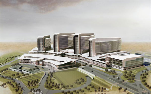 Project: Al Mafraq Hospital and Dialysis Center In Abu