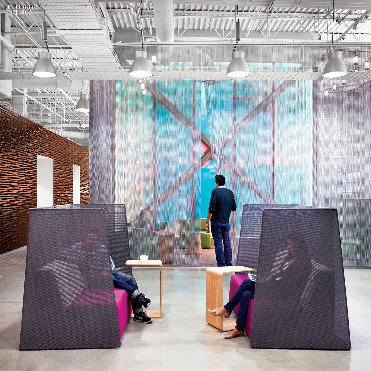 Interior Design Technology: 4 Technology Workplaces By A Web Of Gensler Offices