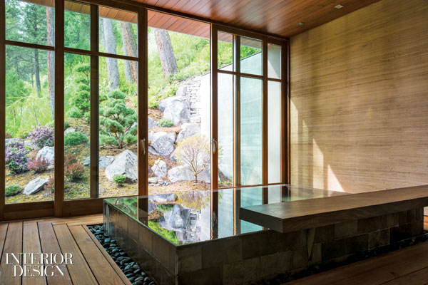 Capturing The Great Outdoors A Japanese Bathhouse In The Mountains Of Montana