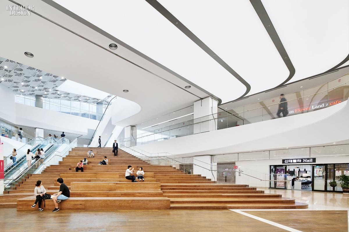 Gensler La Designs Coex Asia S Largest Underground Retail