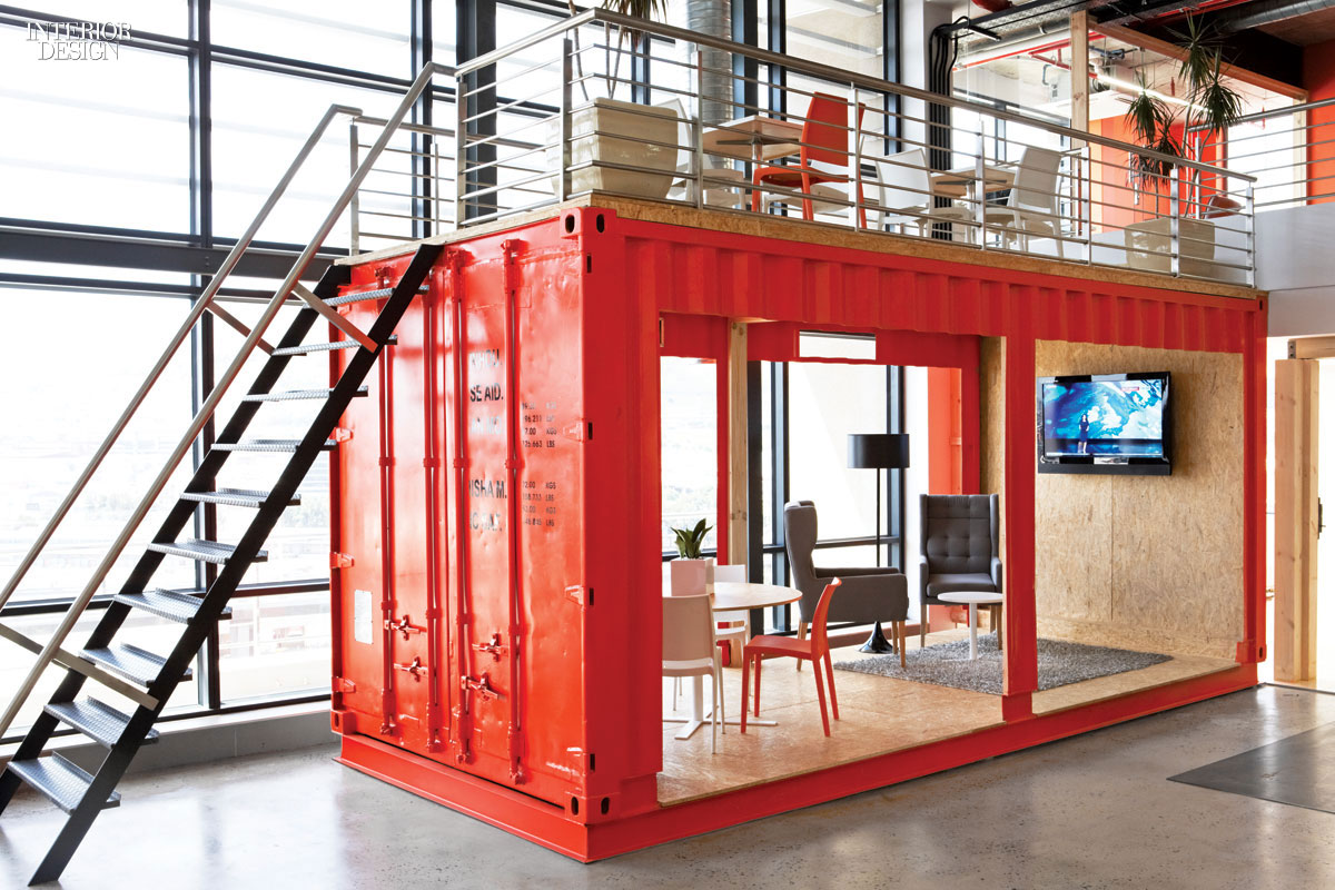 Inhouse 39 s ship shape office for ad agency ninety9cents for Woodworks design office 9