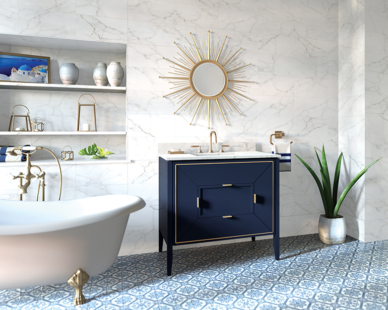 Ronbow Vanities Showcase High End Materials