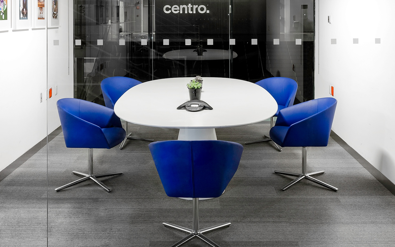 New Conference Tables Adapt To Todays Workplace - Blue conference table