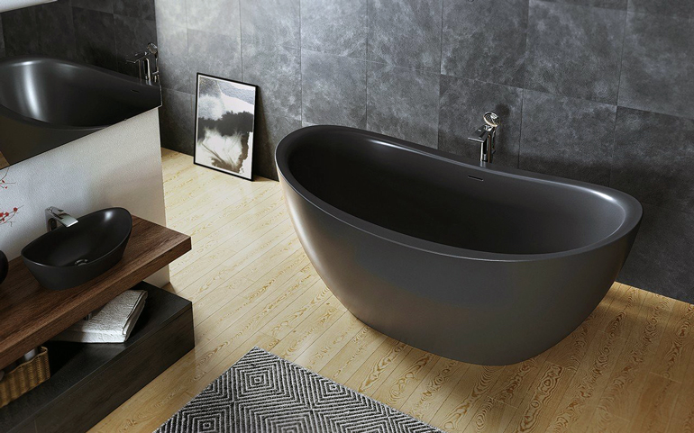 Genial The Purescape 171 Is The Deepest And Roomiest Conventional Soaker Tub On  The Market. Photo Courtesy Of Aquatica.
