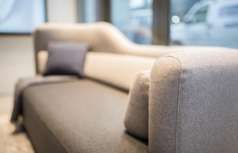 Boconcept Opens Nyc Showroom Celebrates Karim Rashid S Ottawa Sofa