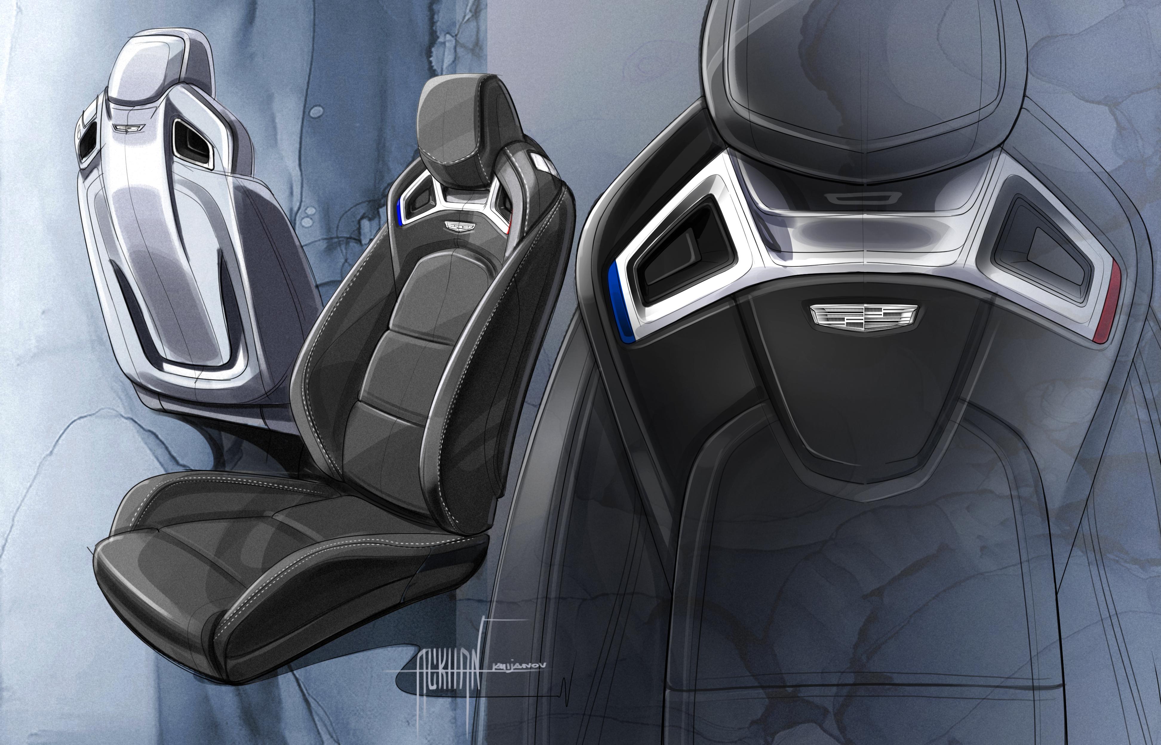 Cadillac S Racing Inspired Recaro Seats Stun