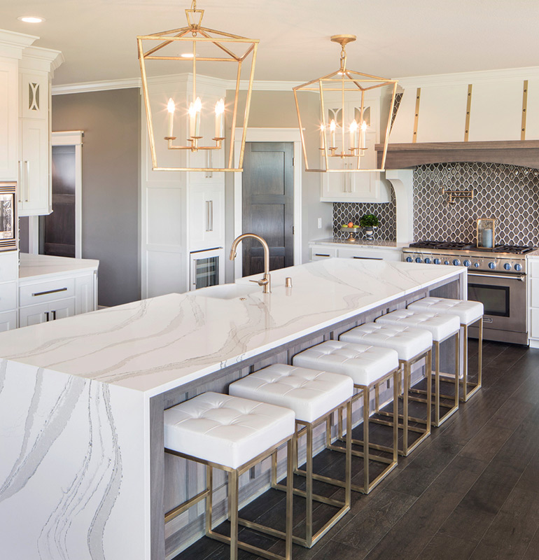 Cambria Coastal Collection S Newest Design Of Quartz: Cambria's Marble Collection Brings Low-Maintenance Luxury