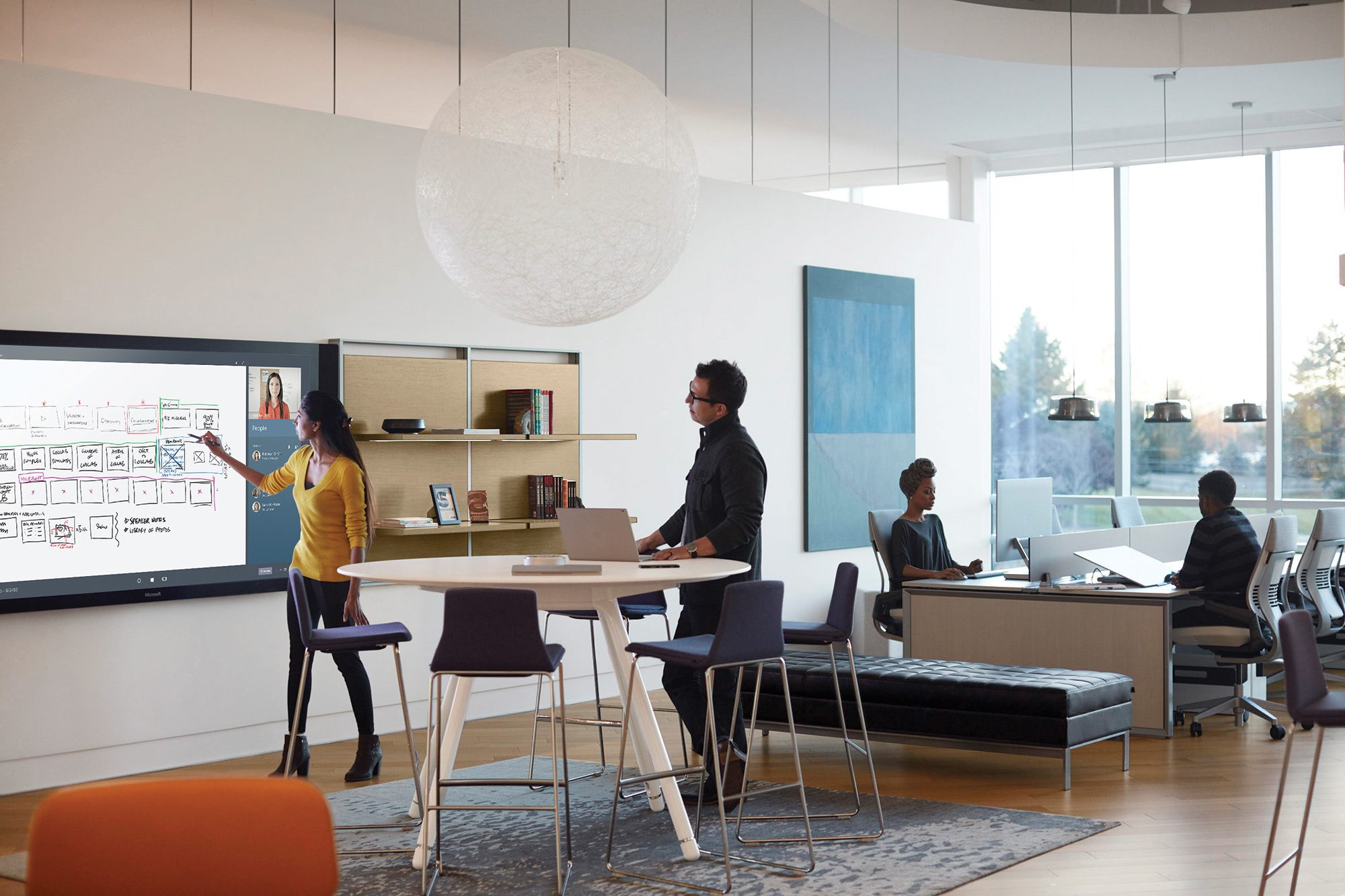3d Floor Plan Maker Steelcase And Microsoft Unveil 5 Spaces To Boost Creativity