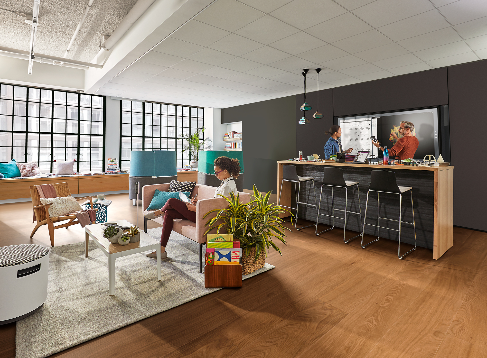 Steelcase and Microsoft Unveil 5 Spaces to Boost Creativity