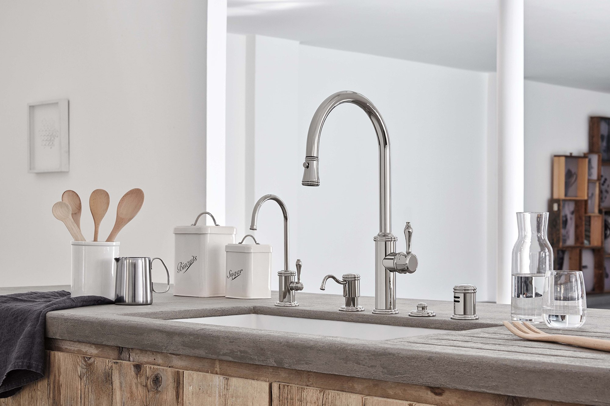 california faucets is simplifying kitchen design