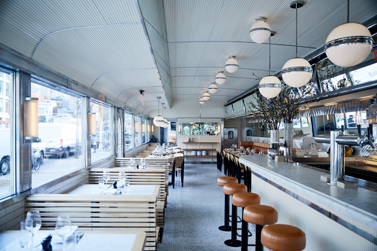 Empire Diner S Upscale Renovation By Nemaworkshop