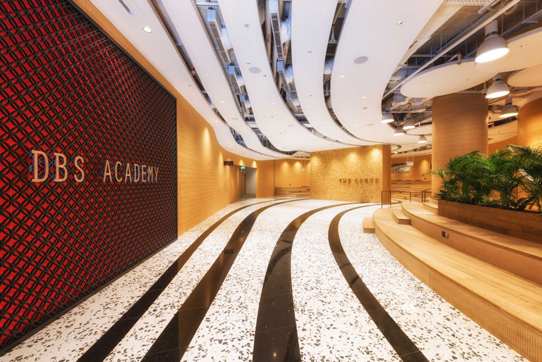 New builds in singapore innovative office designs attract for Design company singapore