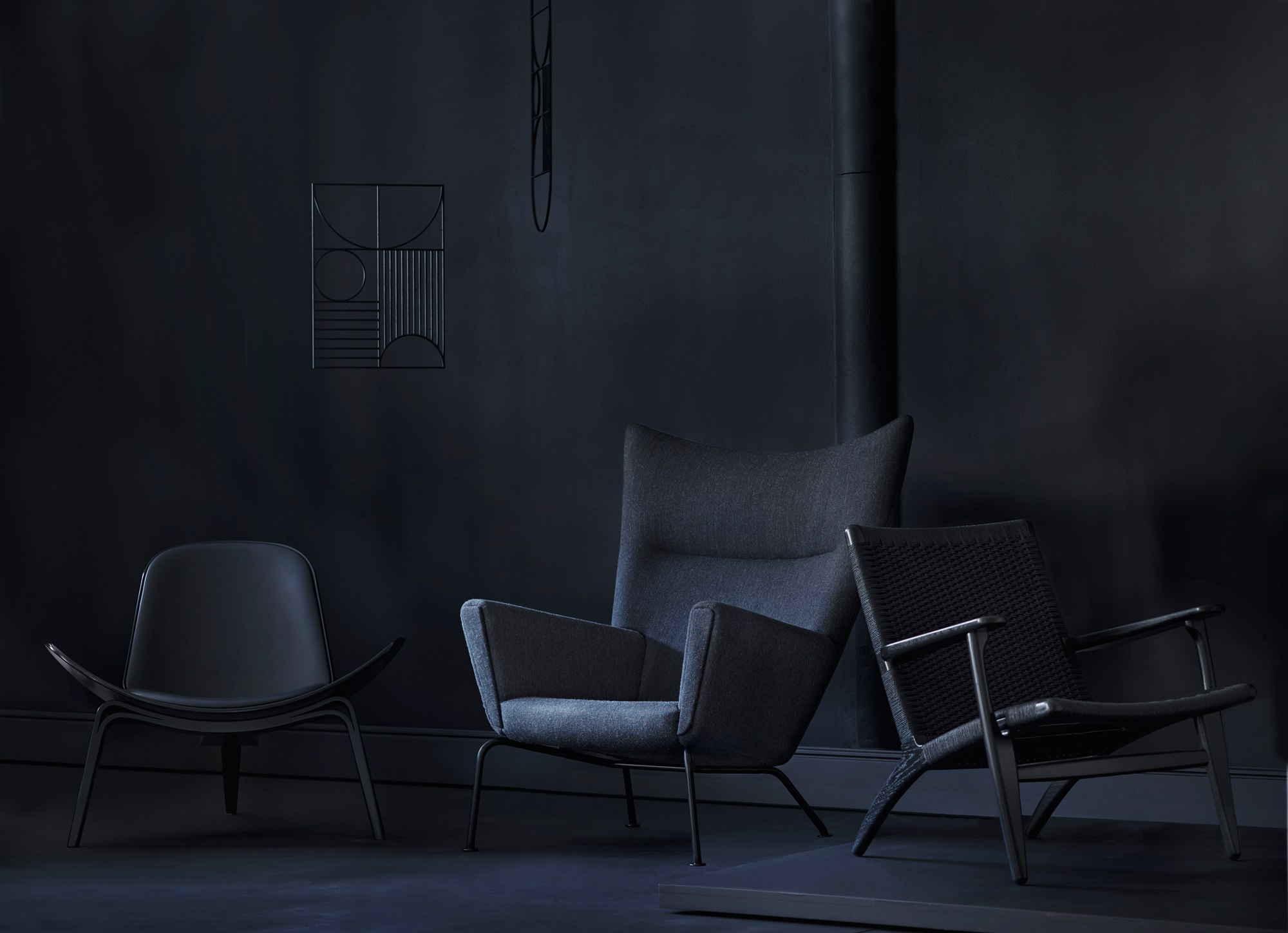 Iconic Hans Wegner Chairs Get A Bold Refresh