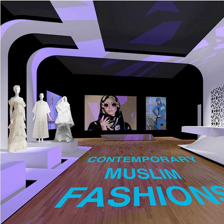 D Rendering Exhibition : Hariri architecture to design contemporary muslim