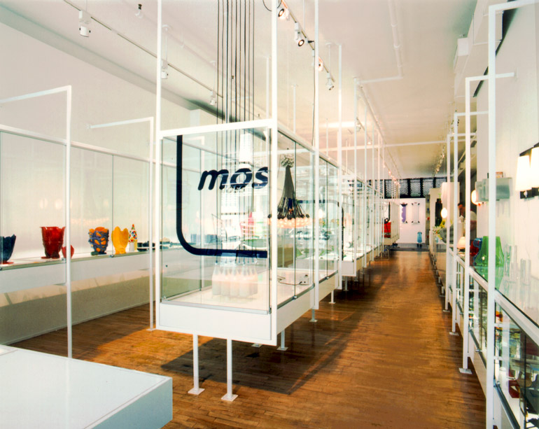 Harry Allen Designed The Moss Store Interior In 1994 And Again When It  Expanded In 1999.