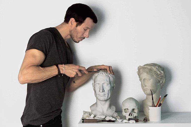 Sebastian Errazuriz Digitally Manipulates Classical Sculptures at