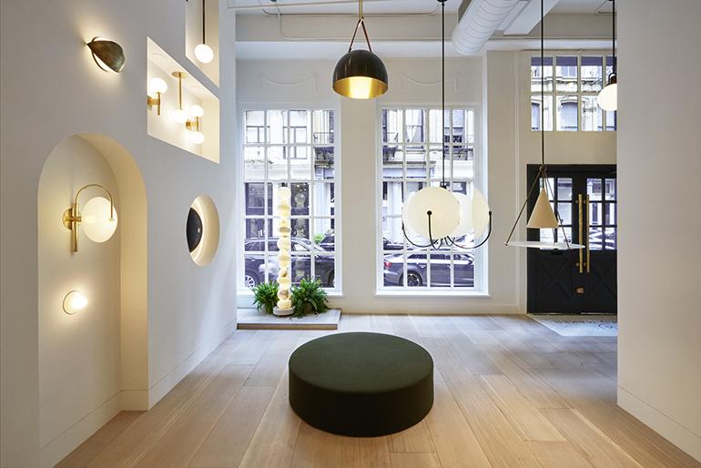 lighting sets. Allied Maker, Purveyor Of Artisan-Crafted Lighting, Sets Up Shop In TriBeCa Lighting Sets