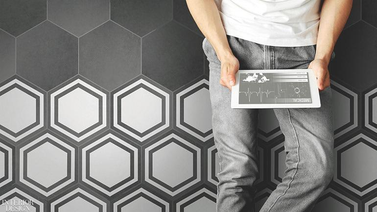 creative shapes define 8 tile collectionsDeco Tile Design #7