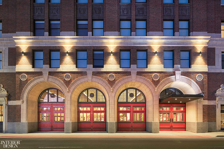 Simeone deary transforms erstwhile fire station into the for Design hotel group