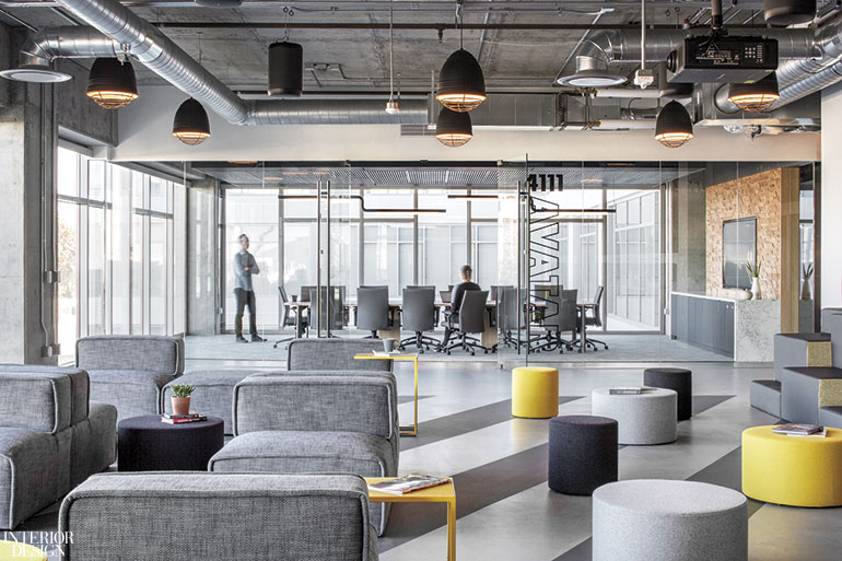 interior design office space modern aftershock by okb architecture photography art gray global office spaces employ artistry and imagination