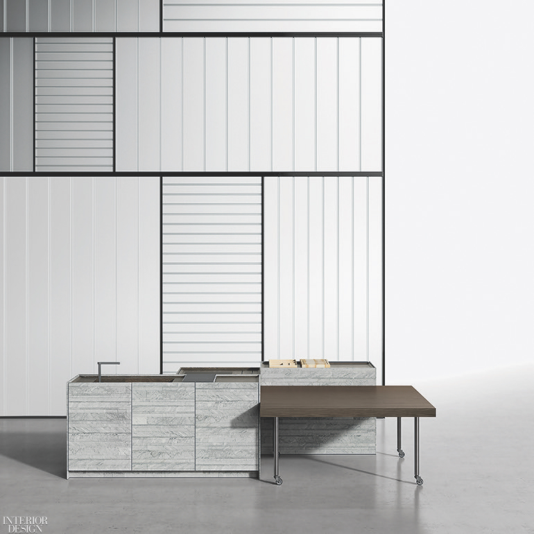 Piero Lissoni S Combine Kitchen Island System For Boffi Upends