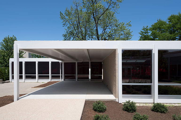The Elmhurst Art Museum Refreshes Mies Van Der Rohes Mccormick House