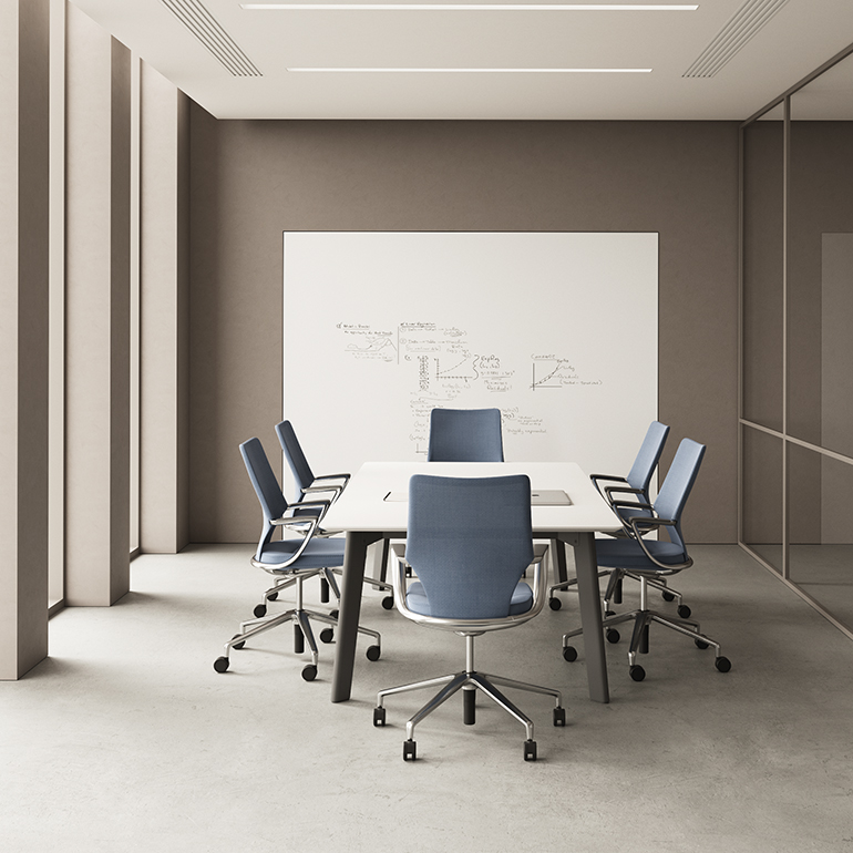 Swurve, Keilhauer's First Carbon Neutral Chair, is ...