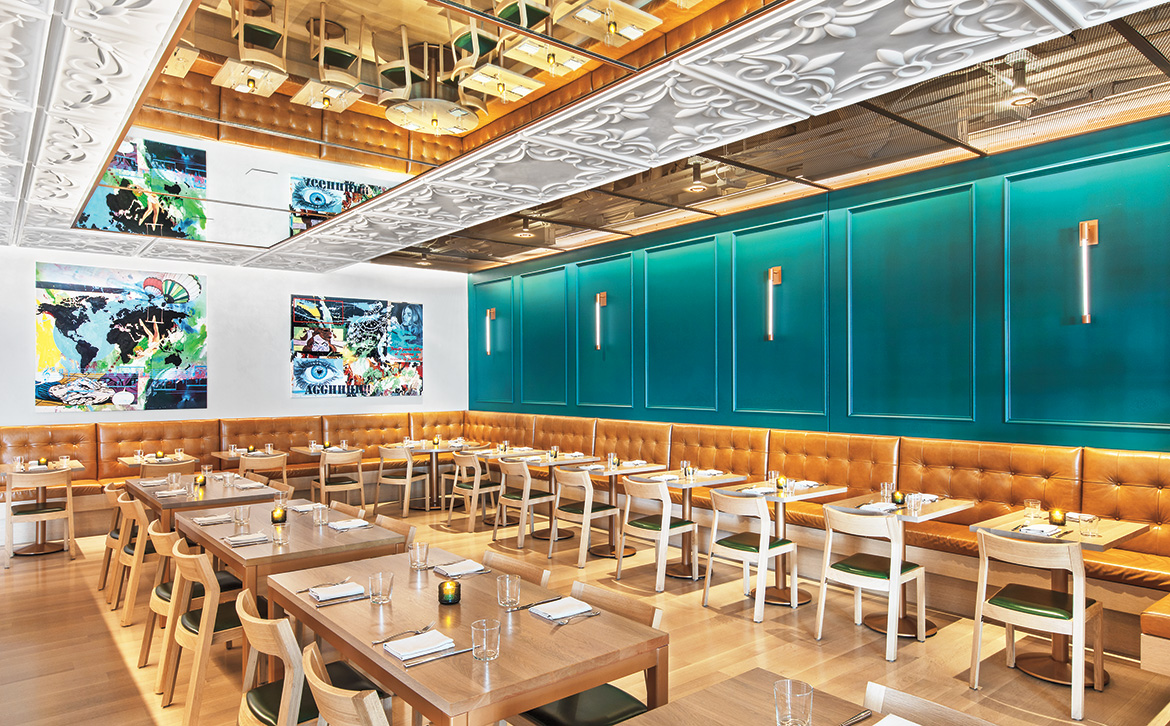 Gensler strikes the right note with chicago restaurant - Top interior design firms chicago ...