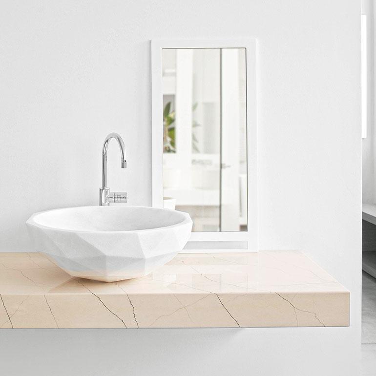 Kreoo S Diamond Washbasin Will Make Any Bathroom A Cut Above The Rest