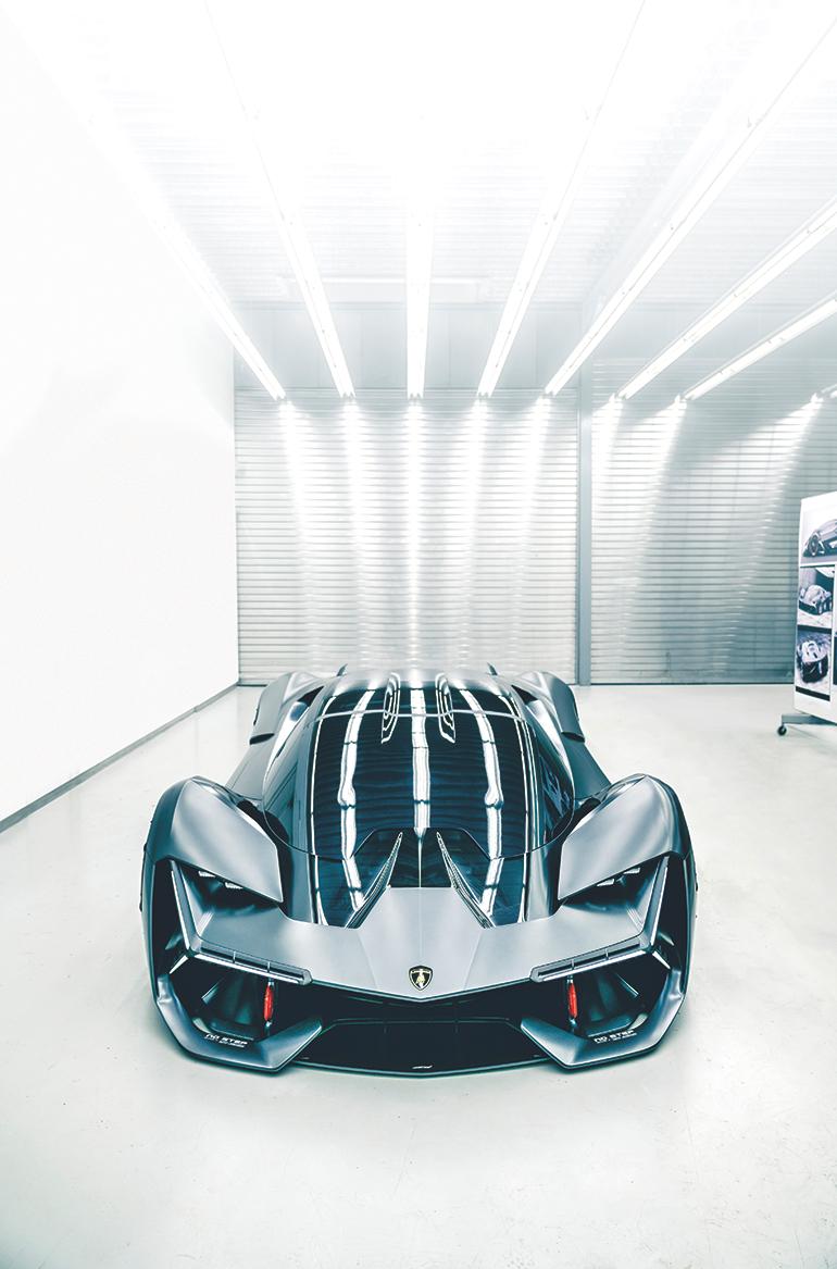 Lamborghini S Electric Concept Car Heals Itself With Automatic