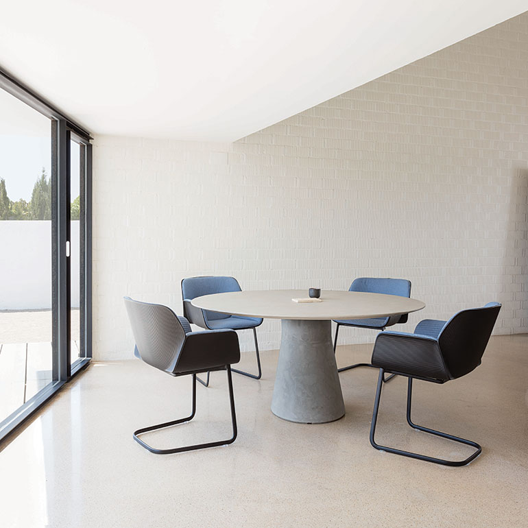 Andreu World S Reverse Conference Table Embodies The