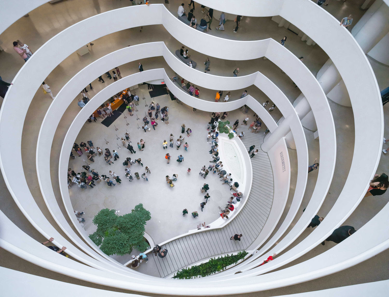 8 Frank Lloyd Wright Buildings Named UNESCO World Heritage ...  Guggenheim Inside