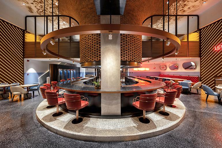 & 4Space Interior Design Fires Up a Barbeque Restaurant in Dubai
