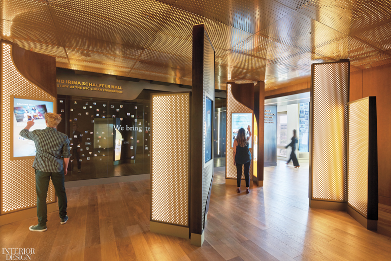 The Usc Shoah Foundation In Los Angeles By Belzberg Architects Shines Light On The Darkest Events In Modern History Interior Design Magazine